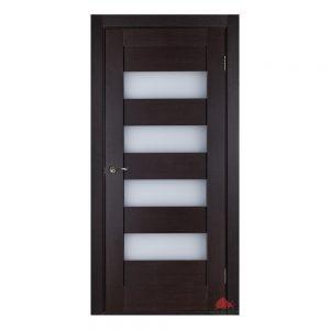 Дверь межкомнатная Горизонталь венге ПО