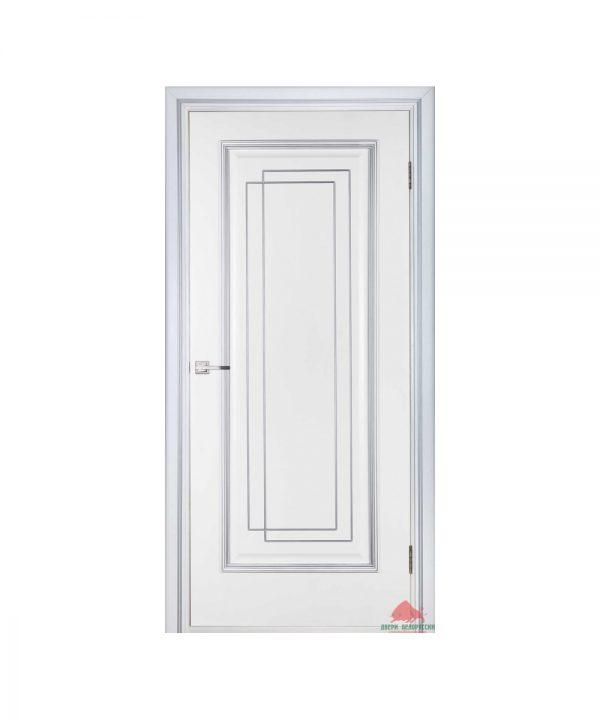 Дверь межкомнатная Триумф белый лак ПГ