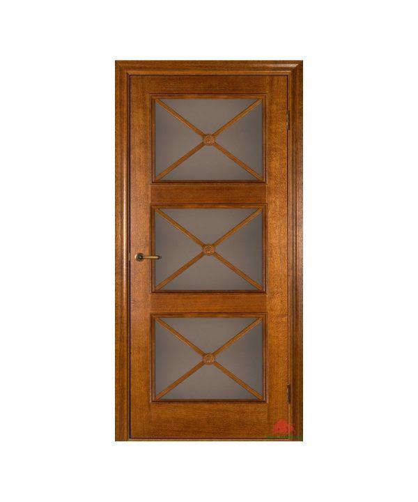 Межкомнатная дверь Адант дуб тонированный ПО