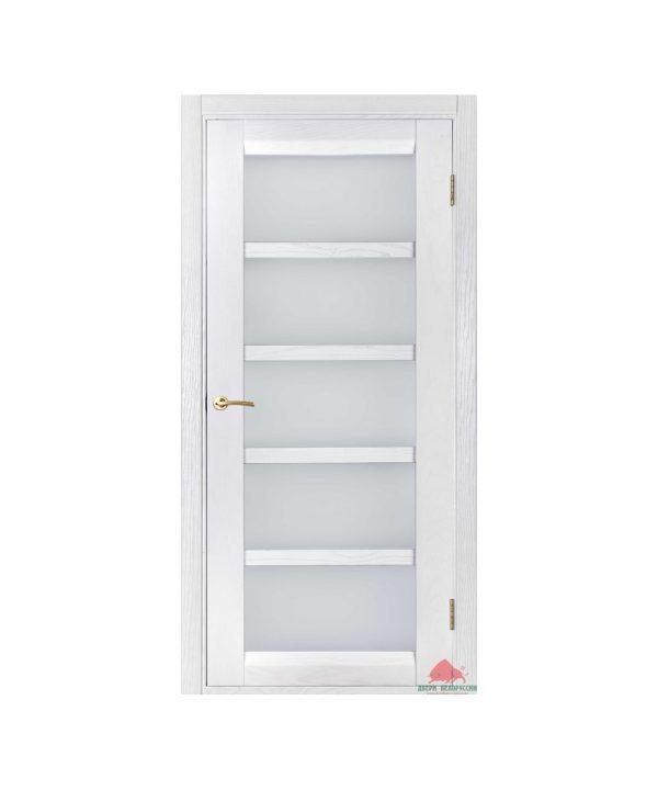 Межкомнатная дверь Бристоль белый ясень ПО
