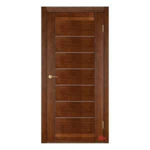 Межкомнатная дверь Бристоль каштан (с молдингами) ПГ