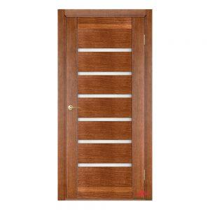 Межкомнатная дверь Бристоль орех светлый ПГ