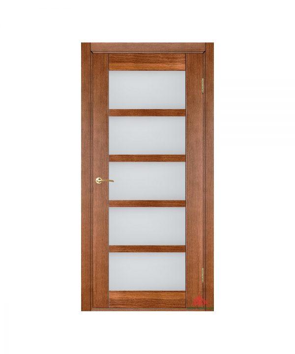 Межкомнатная дверь Бристоль орех светлый ПО