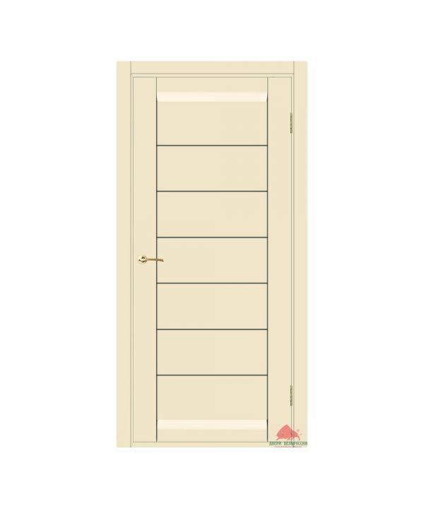 Межкомнатная дверь Бристоль слоновая кость (с молдингами) ПГ
