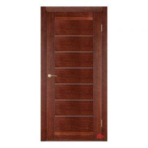 Межкомнатная дверь Бристоль вишня (с молдингами) ПГ