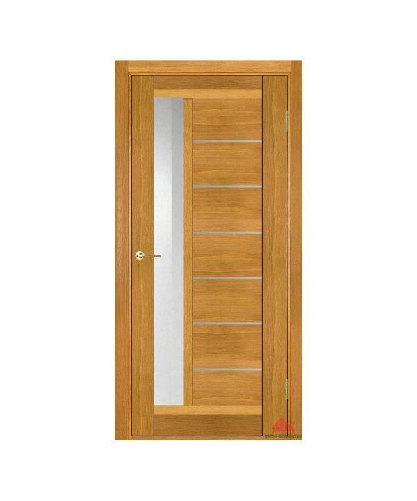 Межкомнатная дверь Дублин-М светлый дуб ПО