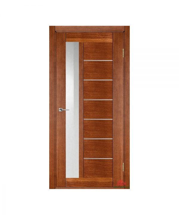 Межкомнатная дверь Дублин-М светлый орех