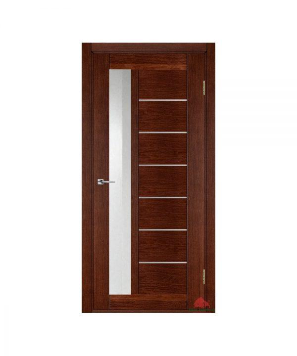 Межкомнатная дверь Дублин-М темный орех