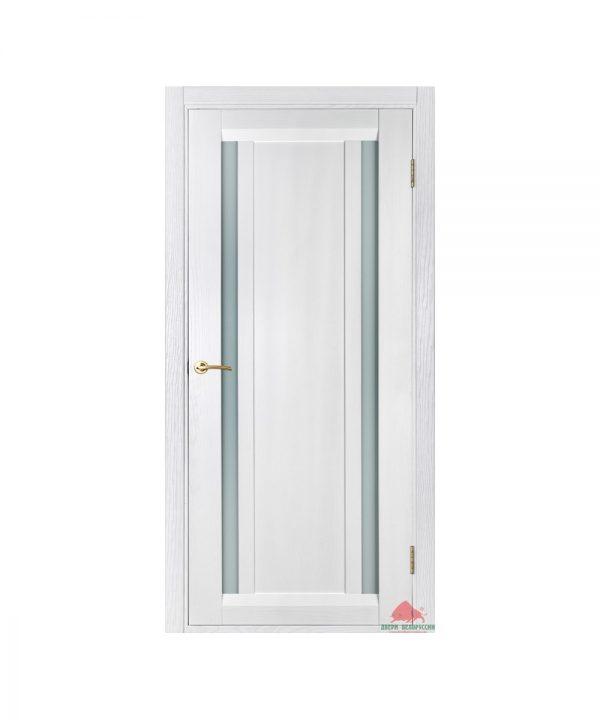 Межкомнатная дверь Дублин белый ясень ПО