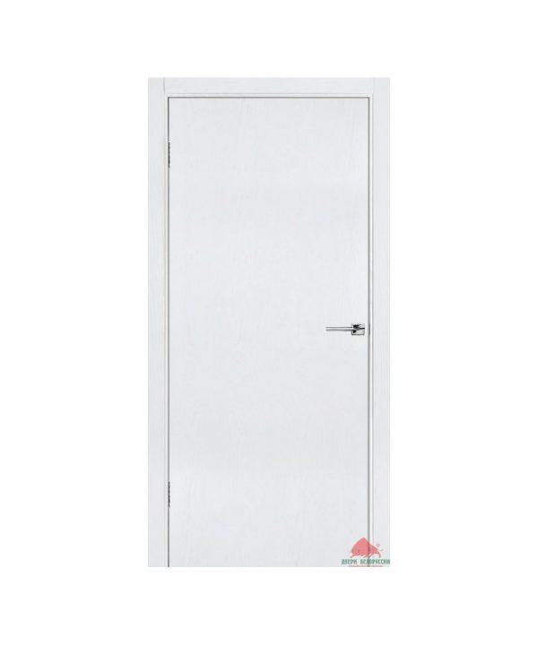 Межкомнатная дверь Флэш 1 белый ясень ПГ