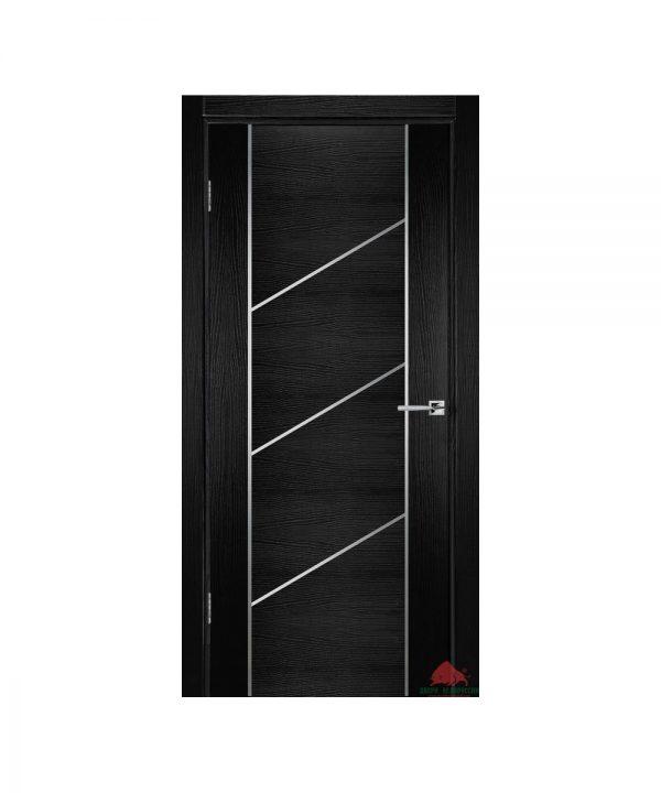 Межкомнатная дверь Флэш 12 черный ясень ПГ