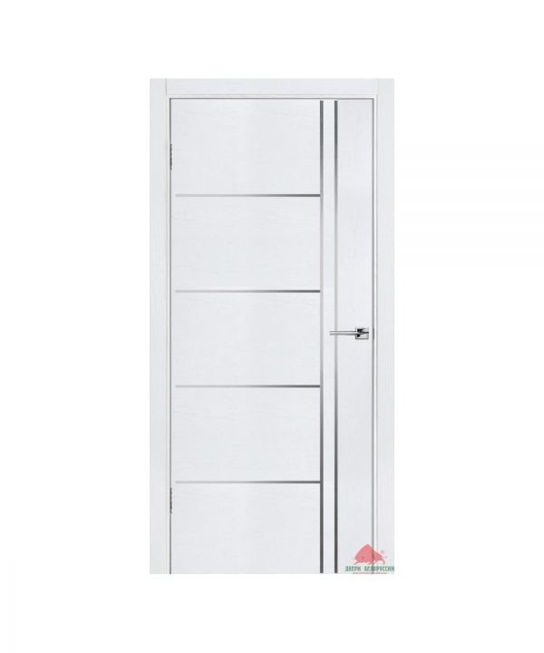 Межкомнатная дверь Флэш 5 белый ясень ПГ