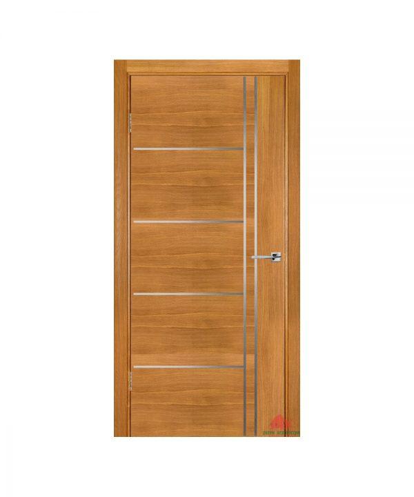 Межкомнатная дверь Флэш 5 светлый дуб ПГ