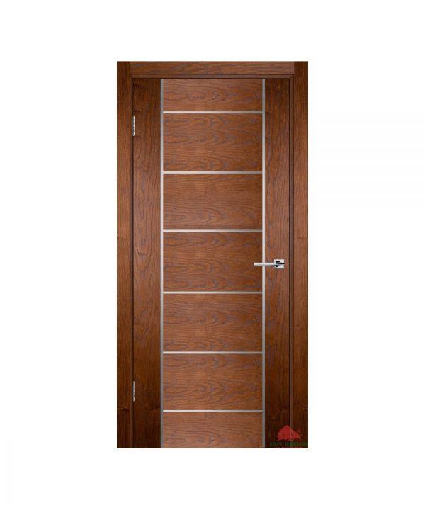 Межкомнатная дверь Флэш 8 светлый орех ПГ