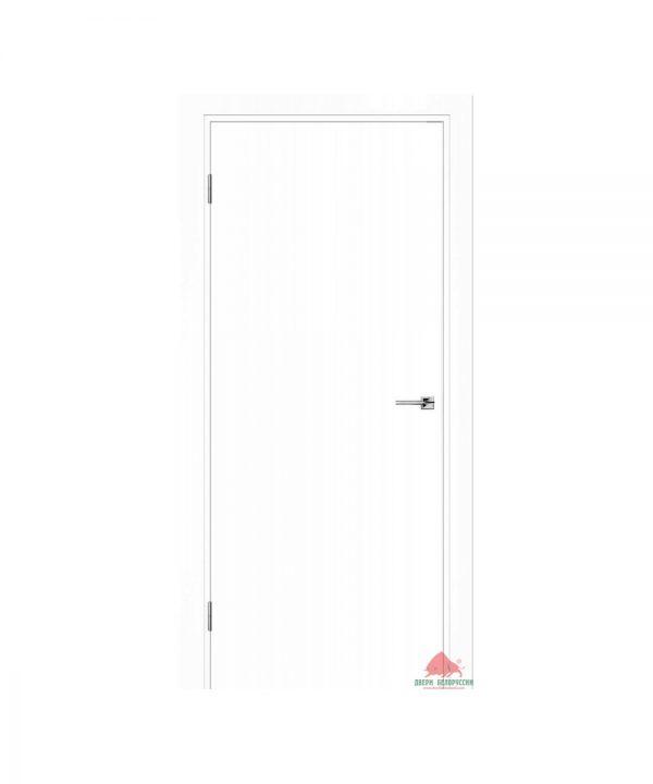Межкомнатная дверь Гладь белая эмаль ПГ
