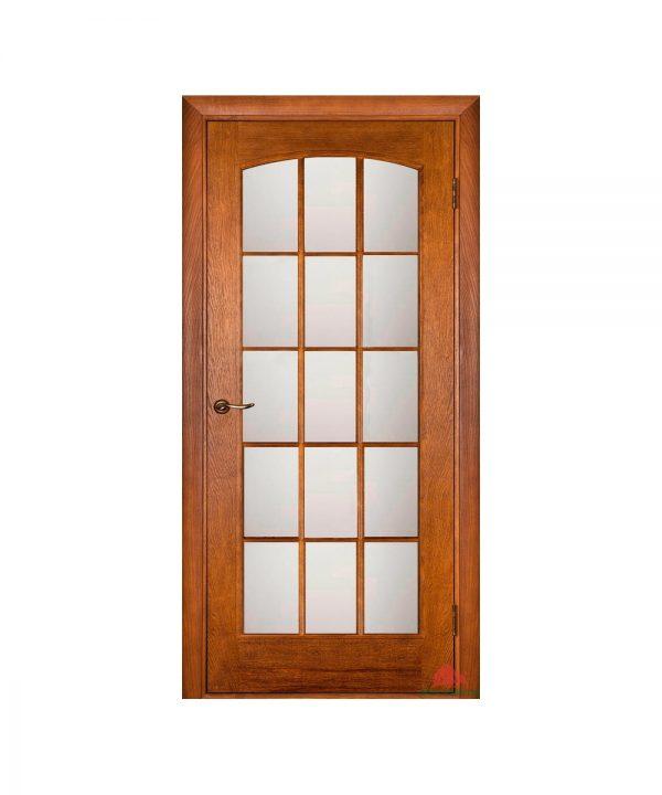 Межкомнатная дверь Капри дуб тонированный ПОО