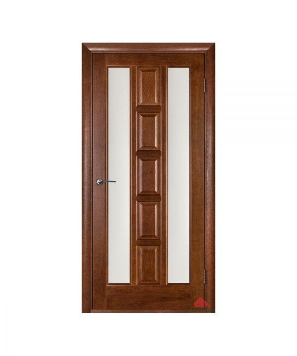 Межкомнатная дверь Квадро каштан ПОО