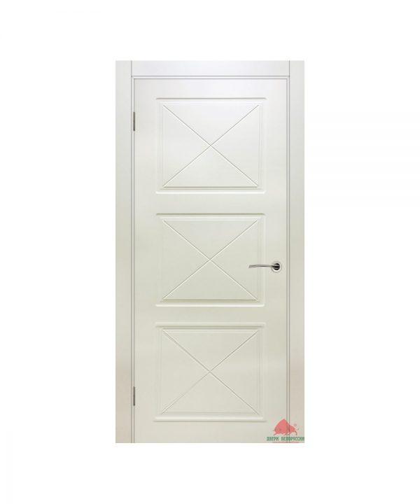 Межкомнатная дверь Лондон слоновая кость ПГ