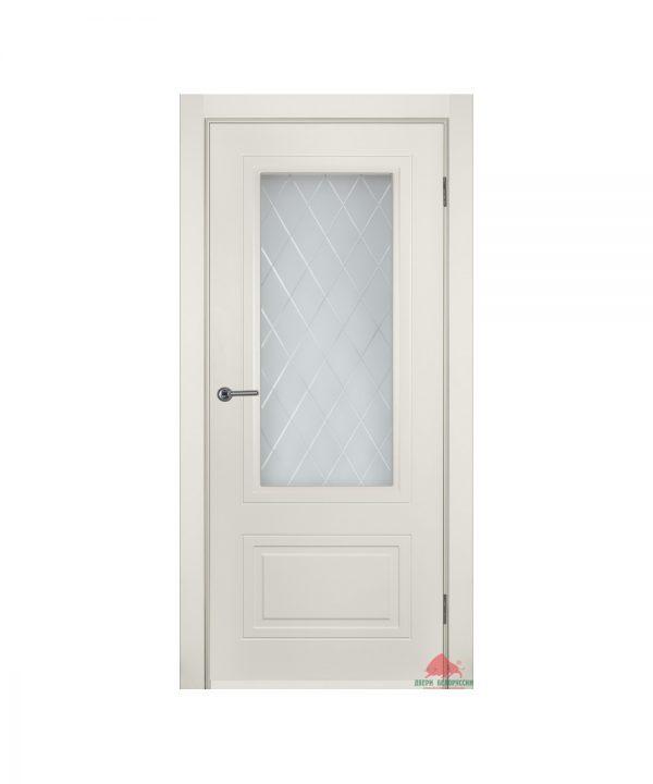 Межкомнатная дверь Мальта слоновая кость ПО