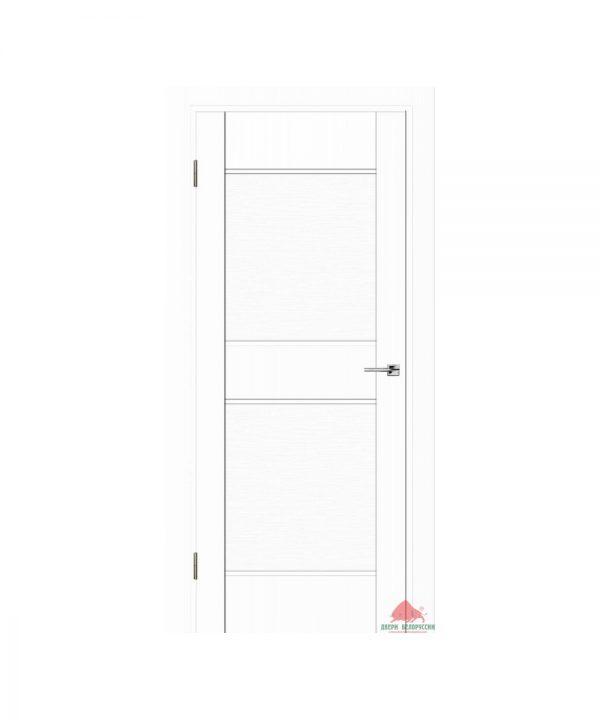 Межкомнатная дверь Прайм белый софт ПГ