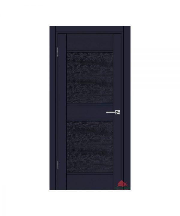 Межкомнатная дверь Прайм синий софт ПГ