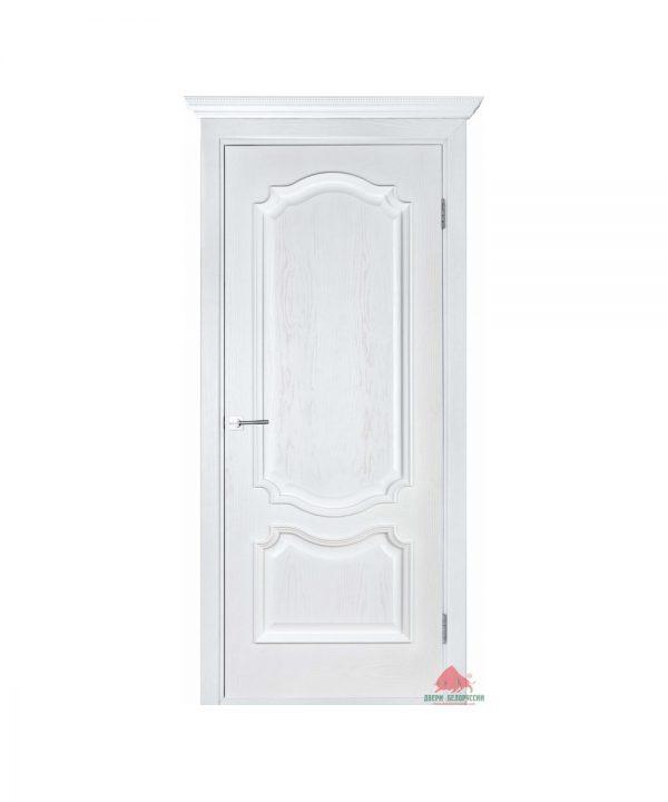 Межкомнатная дверь Престиж белый ясень ПГ
