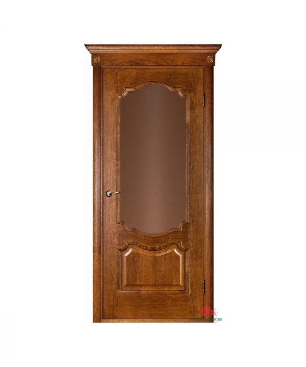Межкомнатная дверь Престиж каштан ПО (без решетки)