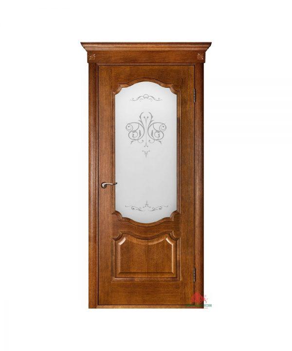 Межкомнатная дверь Престиж орех ПО