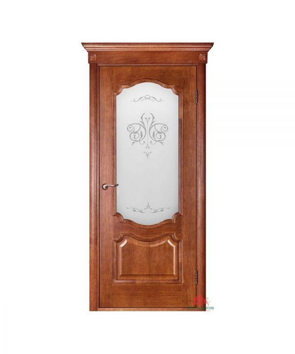 Межкомнатная дверь Престиж орех светлый ПО