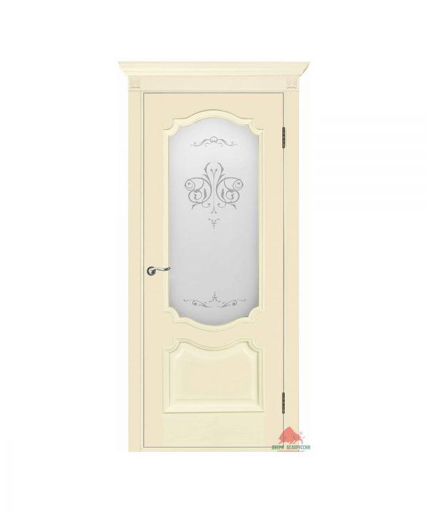 Межкомнатная дверь Престиж слоновая кость ПО