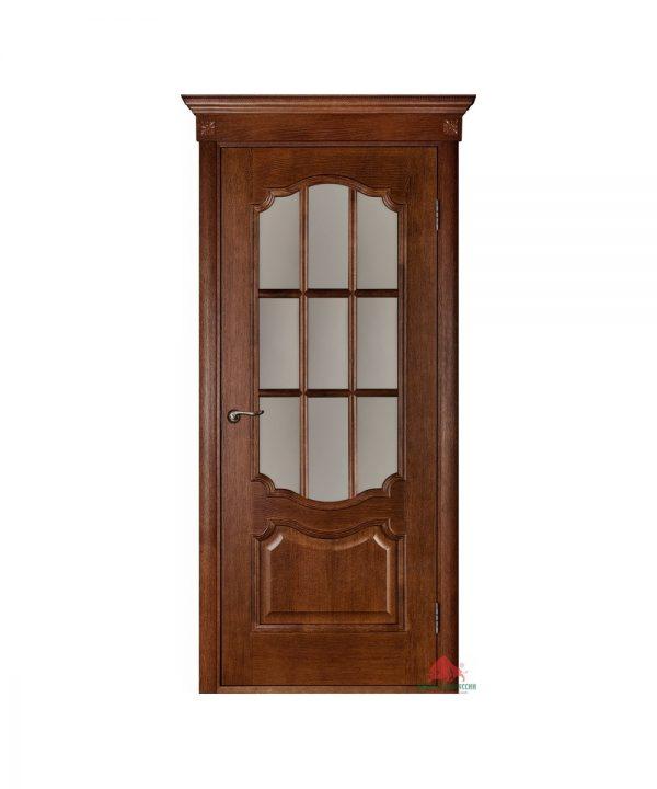 Межкомнатная дверь Престиж темный орех с ПО