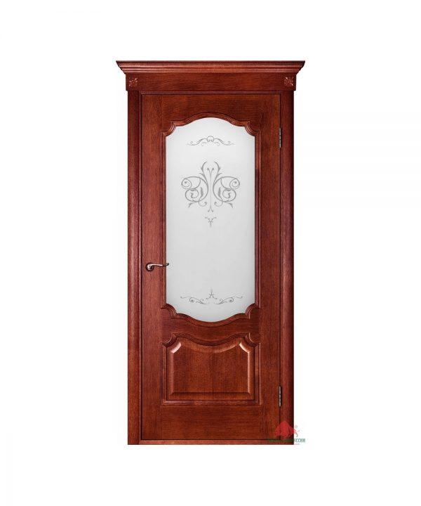 Межкомнатная дверь Престиж вишня ПО