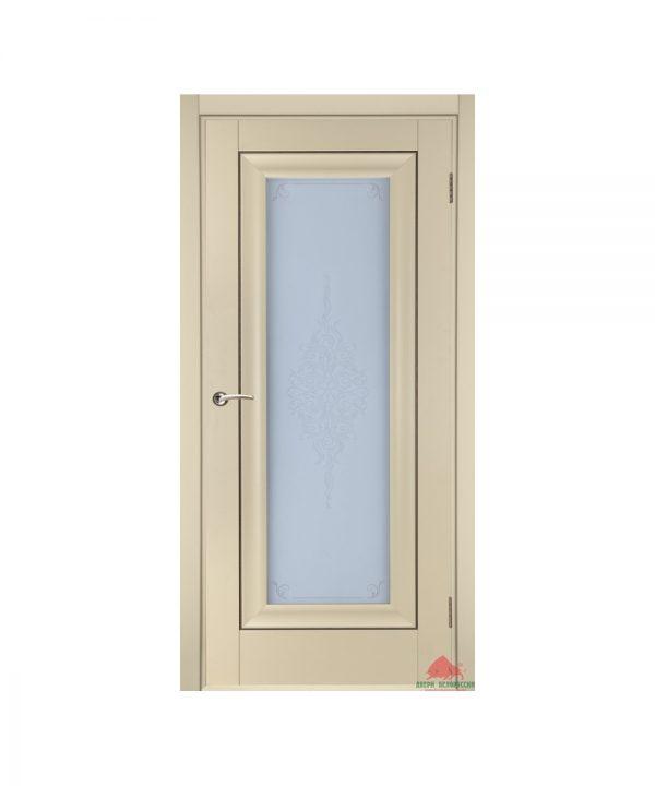 Межкомнатная дверь Стиль матовая ваниль ПО
