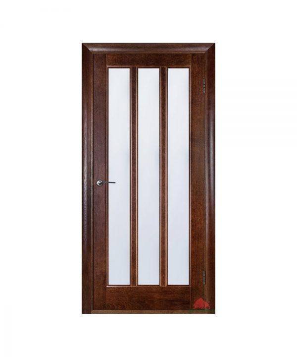 Межкомнатная дверь Троя темный орех ПОО