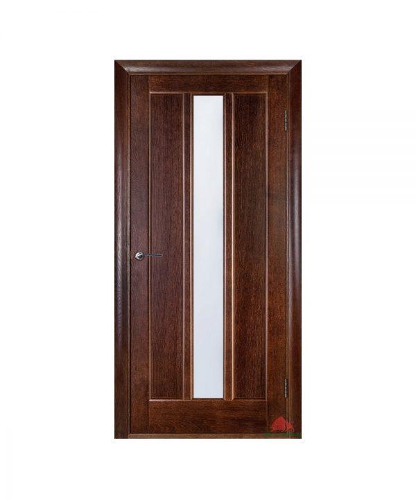 Межкомнатная дверь Троя темный орех ПО