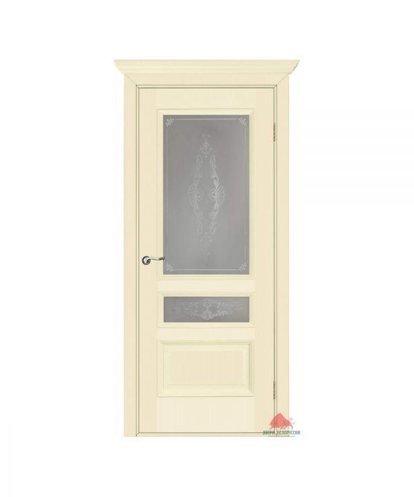 Межкомнатная дверь Вена слоновая кость ПО