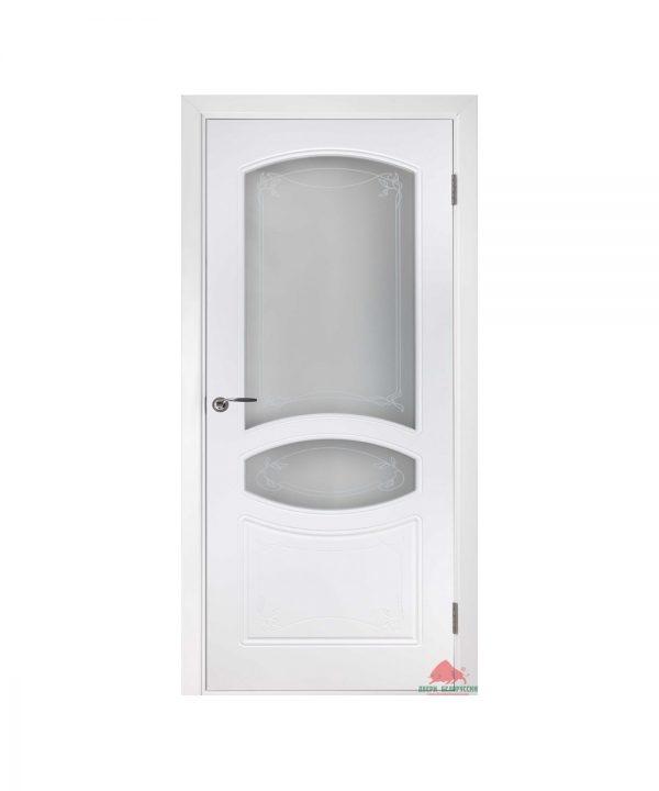 Межкомнатная дверь Версаль белая эмаль ПО