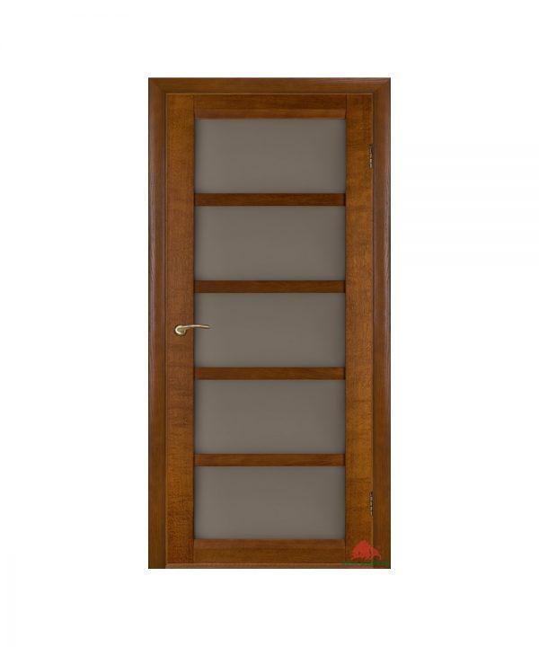 Межкомнатные двери Бристоль-Э орех темный ПО