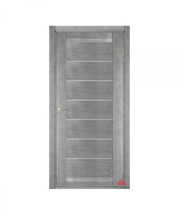 Межкомнатные двери Бристоль серый ясень ПГ (с молдингами)