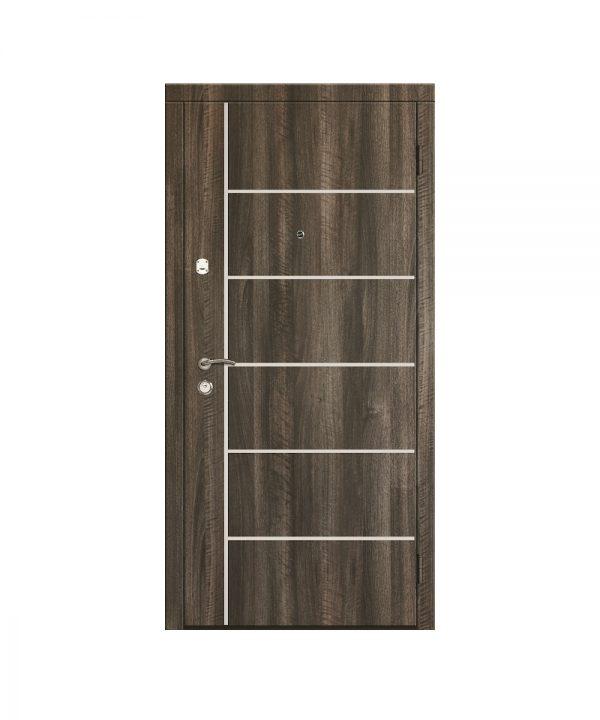 Входная дверь Саган Молдинг модель 3
