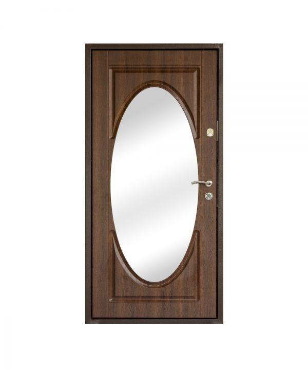 Входная дверь Саган Зеркало 1