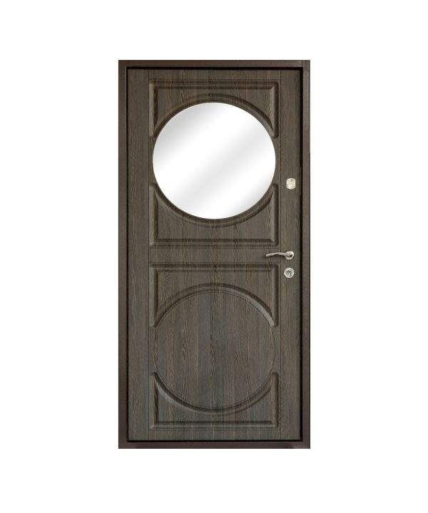 Входная дверь Саган Зеркало 3