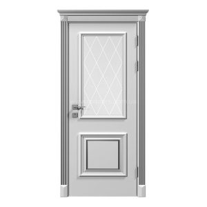 """Дверное полотно """"Asti"""" со стеклом рис.3, краска RAL"""