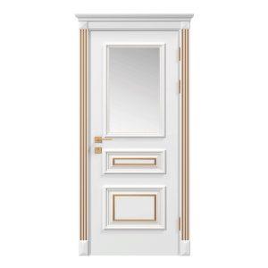 """Дверное полотно """"Asti"""" со стеклом, краска RAL"""