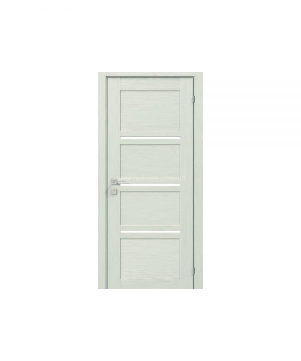 """Дверное полотно """"Quadro"""" полустекло"""