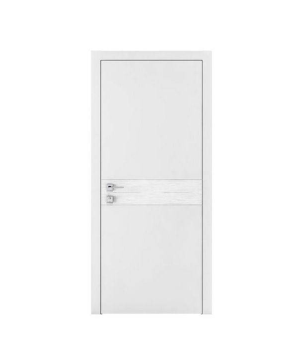 """Дверное полотно """"Wave G"""" белый мат"""