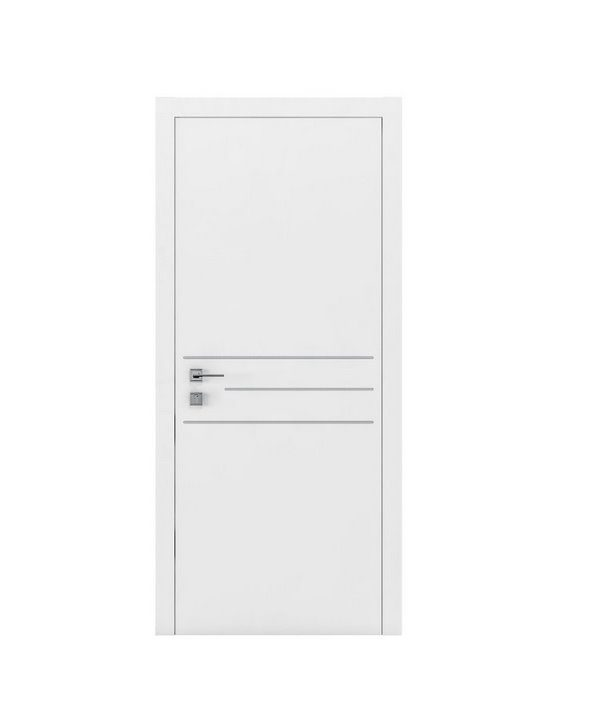 """Дверное полотно """"Prima"""" 3G белый мат"""