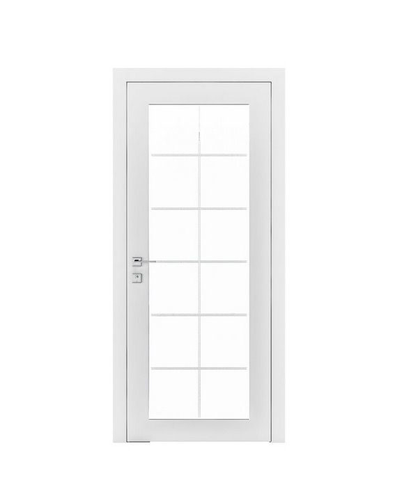 """Дверное полотно """"Porto"""" белый мат"""