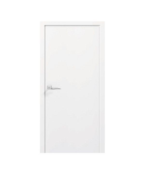 """Дверное полотно """"Prima"""" белый мат 30 фрезеровок краски"""