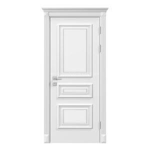 """Дверное полотно """"Asti"""" глухое, белый мат"""